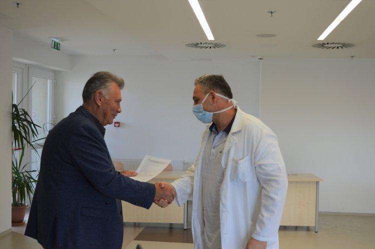 Átadták az osztályvezető főorvosi, ápolói kinevezéseket