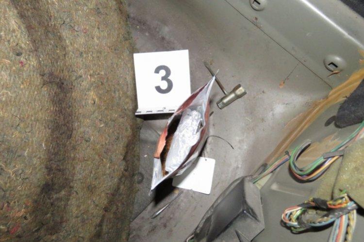 71,6 gramm kábítószergyanús anyagot találtak az autóban a mátészalkai rendőrök