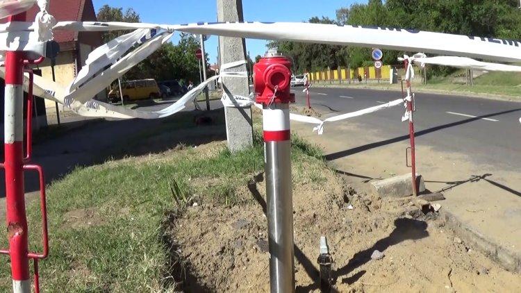 Korszerűbb hálózat – Tűzcsapokat cserél a Nyírségvíz a Krúdy Gyula utcán