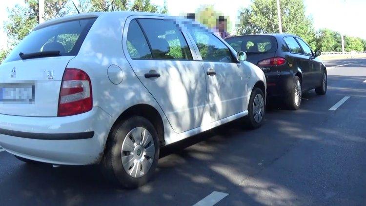 Ráfutásos baleset történt a Debreceni út bevezető szakaszán