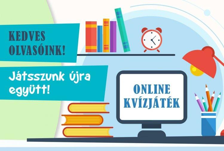 91. Ünnepi Könyvhét – Online kvízjátékra hív a Móricz Zsigmond Megyei és Városi Könyvtár