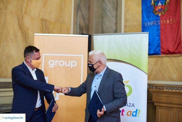 Együttműködés – A városfejlesztési célokat szolgálja az MVM-mel kötött megállapodás