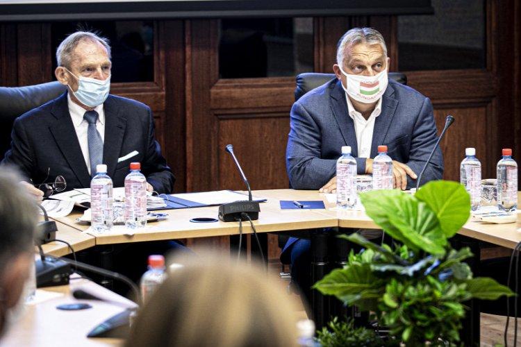 Orbán Viktor is részt vett az Operatív Törzs szombati ülésén