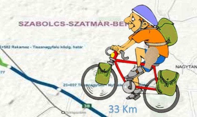 Sztóma Tour - kerékpáros túra Nyíregyháza és Tokaj között az Európai Sporthét jegyében