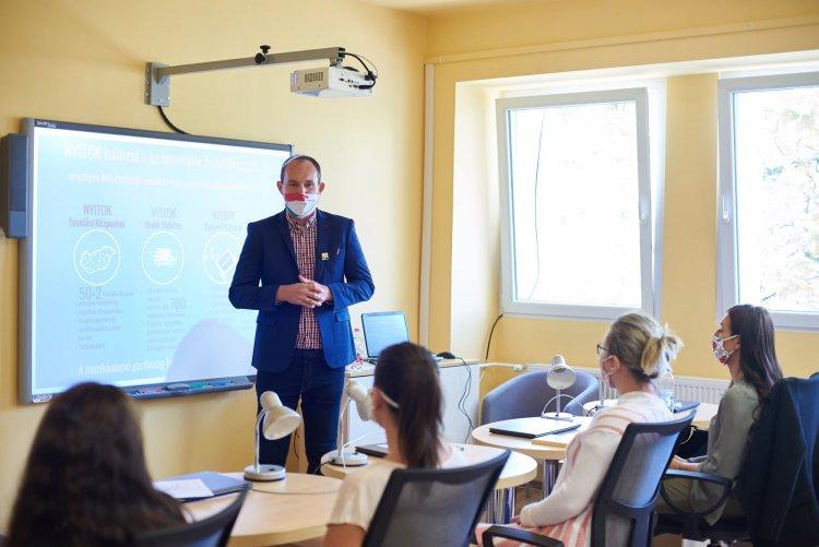 NYITOK – Hálózat a munkaerő-piaci kompetenciák fejlesztéséért