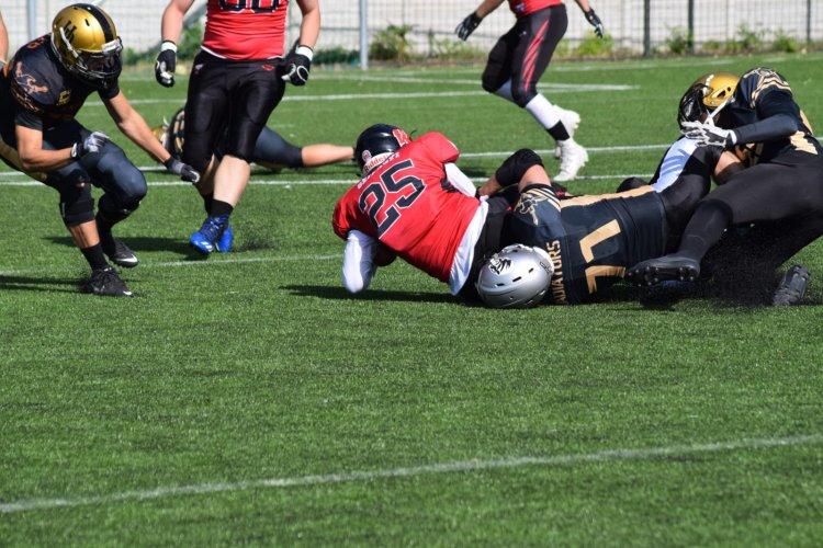 A Tigrisek is segítették a Gladiátorokat - Zajlik az amerikai futball bajnokság