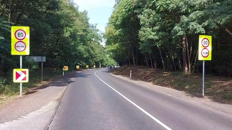 60 km/h-s korlátozás és előzési tilalom a Nyíregyháza és Nagykálló közötti úton