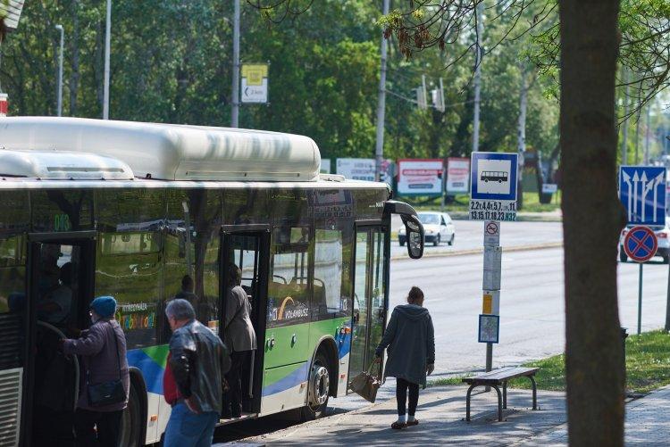 Néhány perces finomhangolást végeztek Nyíregyháza megújult buszhálózatának menetidejében
