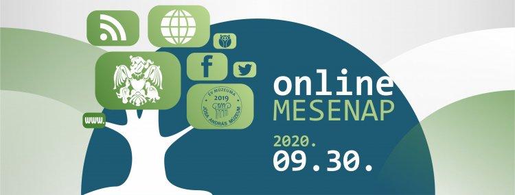 Online Mesenap a Jósa András Múzeum közösségi oldalán, honlapján