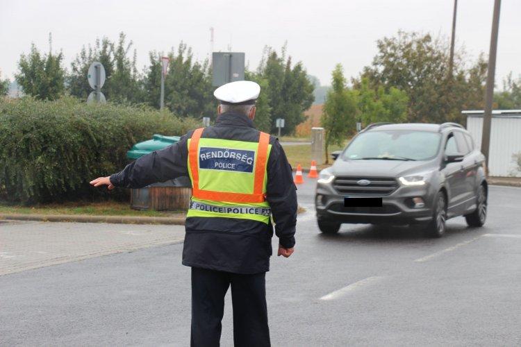 Átfogó ellenőrzést tartottak a szabolcsi rendőrök az M3-as autópályán