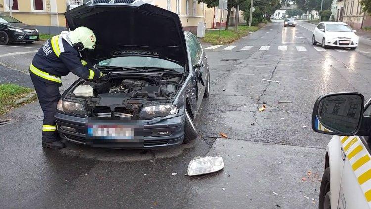Baleset történt szerda reggel az Eötvös utcánál