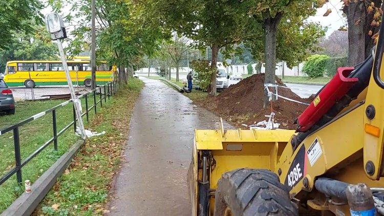 Korszerűsítési munkálatokat végeznek a Korányi, Krúdy Gyula és Garibaldi utca között