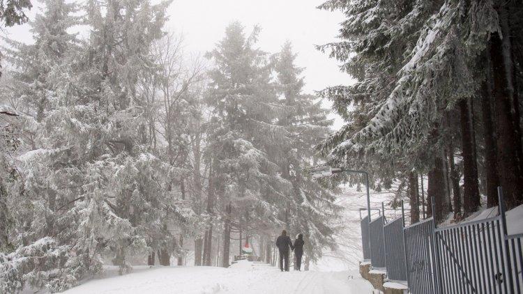 """""""Már hó takará el a Kékestetőt"""" – Leesett az első hó Magyarországon"""