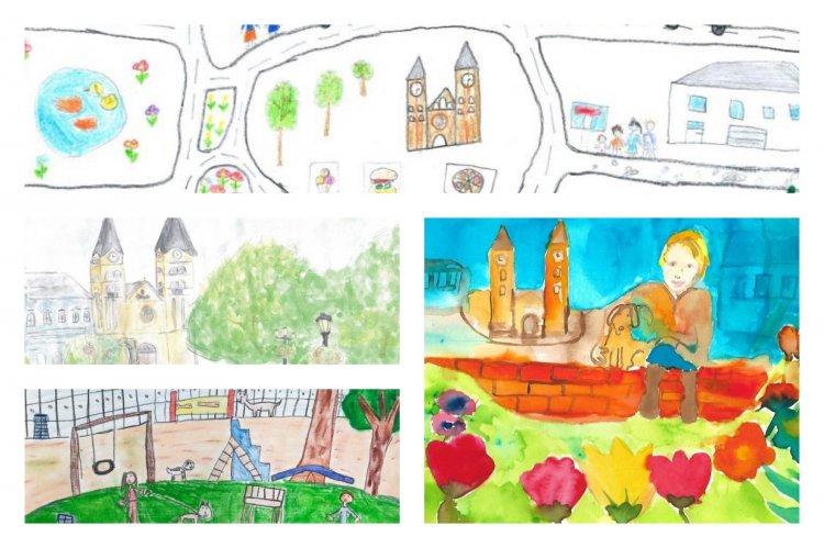 430 pályamű érkezett a NYÍRVV Nyíregyháza gyermekszemmel című rajzpályázatára