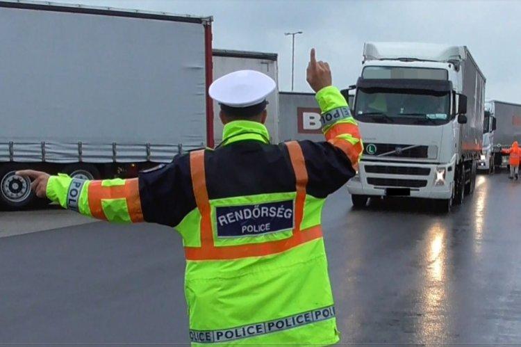 Átfogó ellenőrzés az M3-as autópálya Szabolcs-Szatmár-Bereg megyei szakaszán
