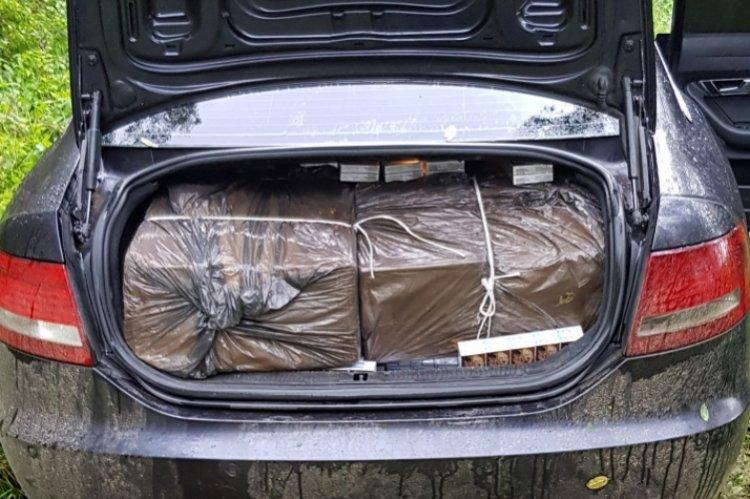 A kölcsei rendőrök elfogták az árucsempészettel gyanúsítható férfit