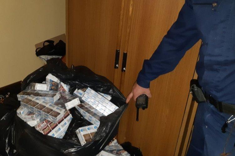 Újabb csempészett cigarettát fogtak a kölcsei rendőrök