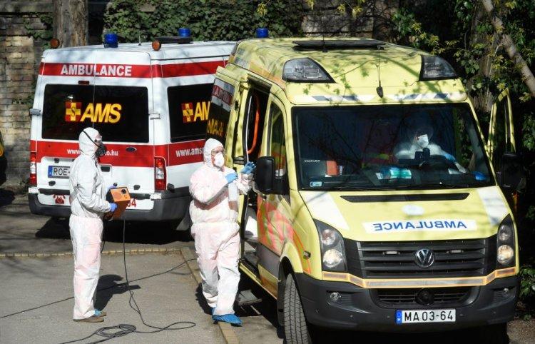 OMSZ: antigén gyorsteszteket használnak a mentők