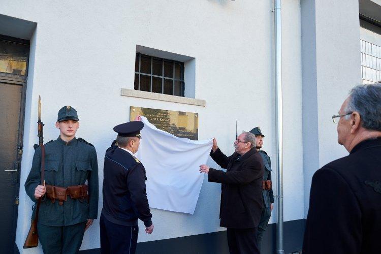 A tanácsköztársaság helyi áldozata, vitéz Kovács István emlékére avattak emléktáblát