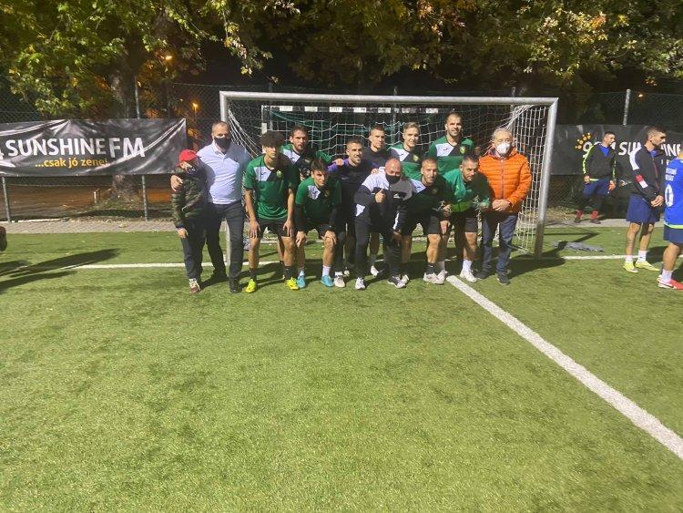 Jótékonysági focitorna - A beteg gyermekek gyógyítását segítették  a nevező csapatok