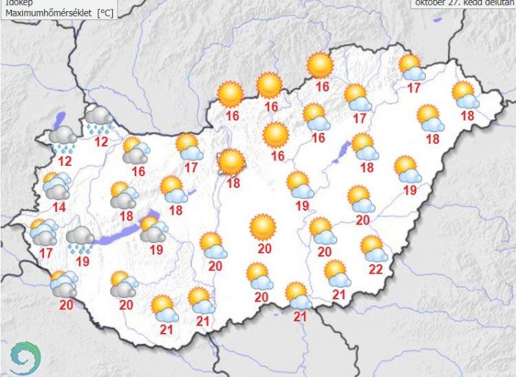 (Fotó: Országos Meteorológiai Szolgálat weboldala)