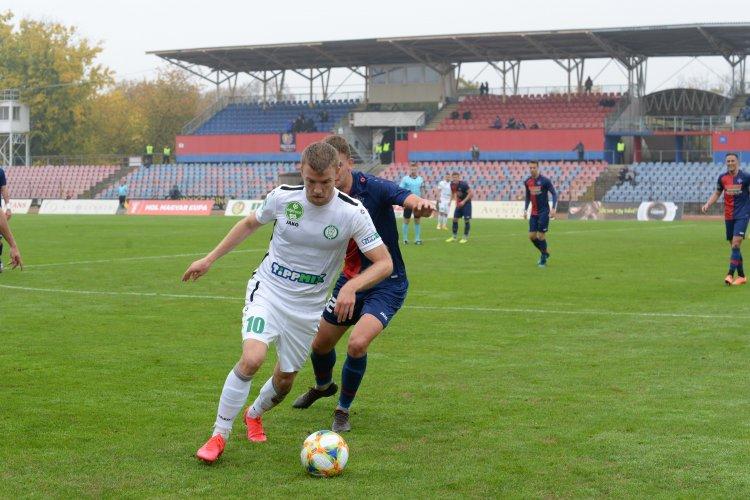 Emelt fővel búcsúzott a Magyar Kupától a Szpari - A hosszabbításban dőlt el a meccs