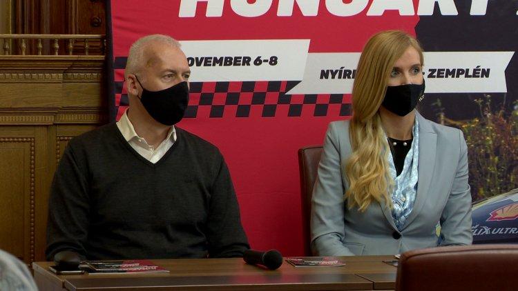 Rally Hungary - A tavalyinál még erősebb mezőny érkezik november elején Nyíregyházára