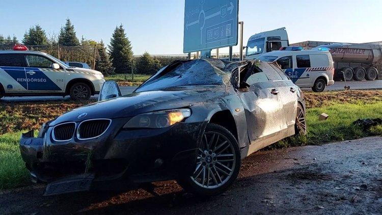 Súlyos baleset történt péntek reggel a 38-as számú főúton