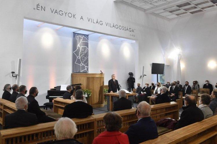 A templomépítő nemzetről beszélt Orbán Viktor a reformáció emléknapján