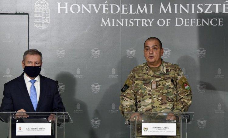 A katonák elvégezték az előre kijelölt 59 köznevelési intézmény fertőtlenítését