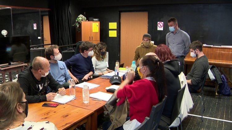 Ember a terráriumban – Olvasópróba a Móricz Zsigmond Színházban