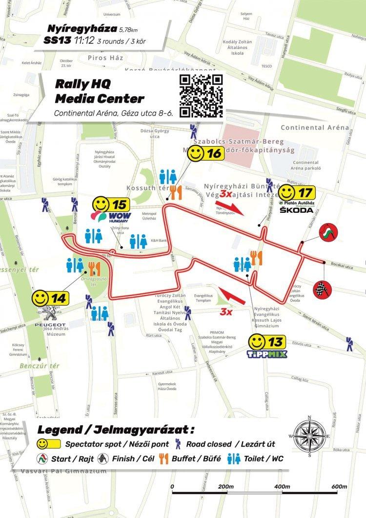 Rally Hungary – Forgalomkorlátozások és útlezárások Nyíregyházán