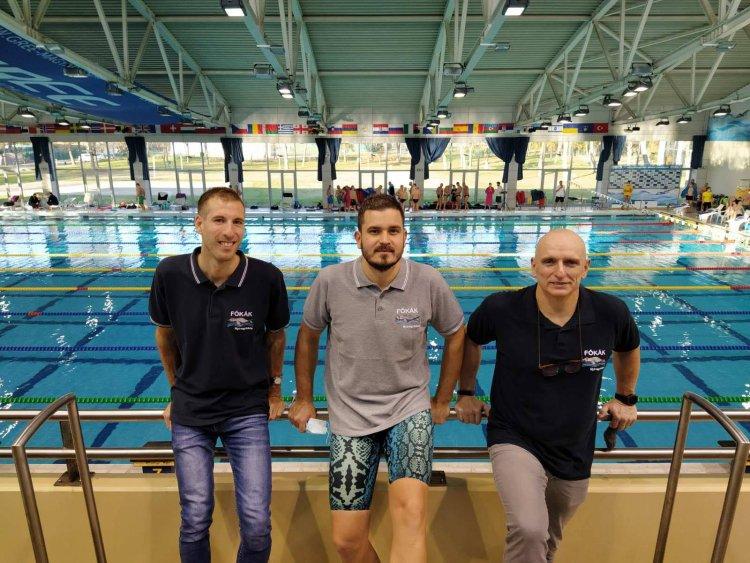 Nyolc bajnoki cím a Fókáktól - Jól szerepeltek a szenior úszók Hódmezővásárhelyen