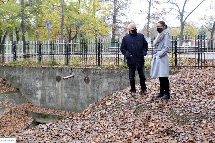 Egymilliárd forintos fejlesztés – Javult Nyíregyháza csapadékvíz-elvezető rendszere