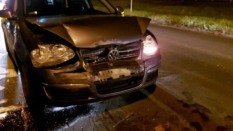 Hármas karambol történt szerda este a Kállói úton, jelentős az anyagi kár