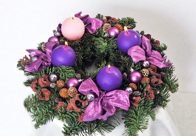 Két hét múlva lesz Advent első vasárnapja! Meggyújtjuk az első gyertyát a koszorún!