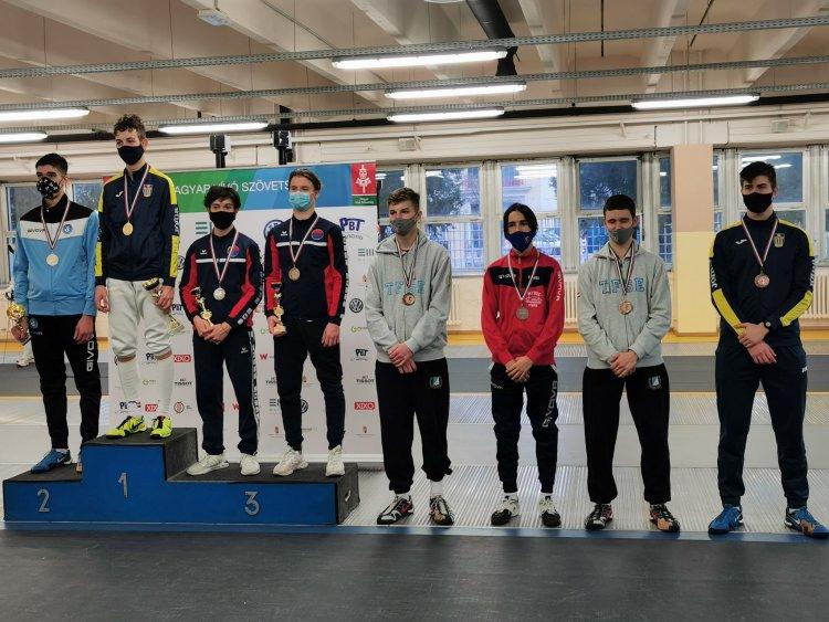 Kadett és Junior Magyar Kupa - A fővárosban léptek pástra az NYVSC fiatal versenyzői.