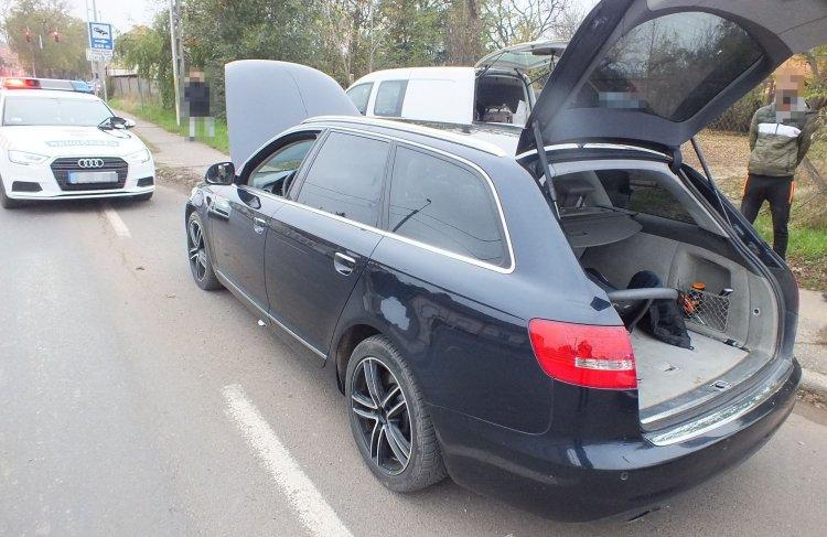 Kábítószer az autóban - A nyíregyházi rendőrök elfogták a férfit