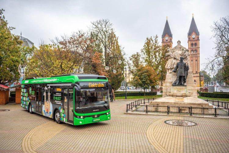 Klíma- és Természetvédelmi Akcióterv: Nyíregyházán folytatja útját a Zöld Busz Program