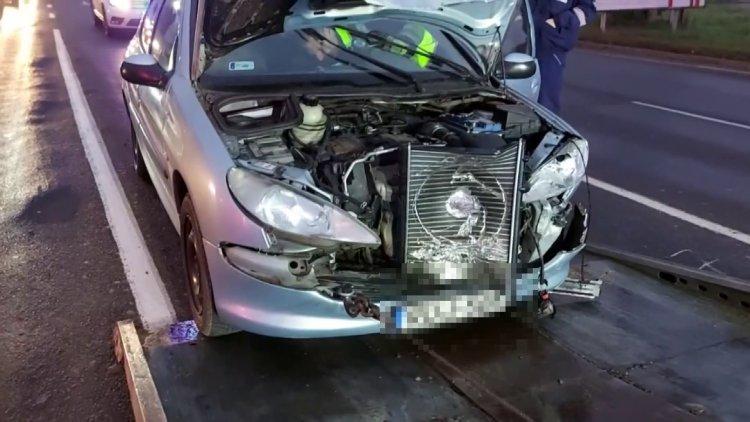 Ráfutásos baleset történt csütörtök reggel a Debreceni úton