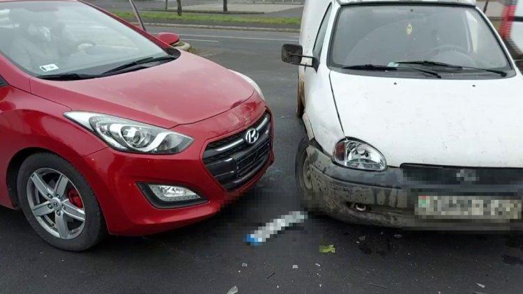 A már megszokott helyen ütközött össze két autó a Törzs utcánál