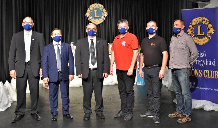 Első Nyíregyházi Lions Club: országosan egyedülálló virtuális bál