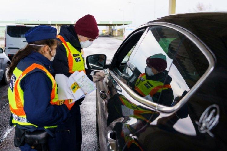 Január végéig meghosszabbították a schengeni belső határszakasz ideiglenes ellenőrzését