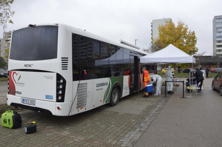 Helyettes tisztifőorvos: szerdán hat szűrőbusz végzi a teszteléseket
