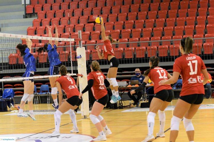Győzelem az MTK ellen - Idegenben nyertek a női röplabdások a bajnokságban