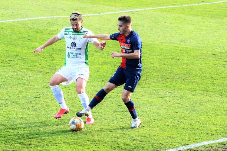 Döntetlen a Kaposvárral - Utolsó hazai meccsét játszotta idén a Szpari
