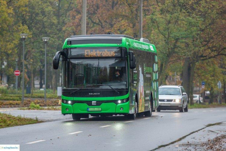 December 14-ig közlekedik a Zöld Busz – Ingyenesen próbálhatják ki az érdeklődők