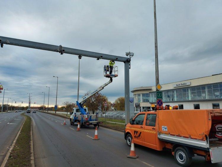 Befejőződött a VÉDA kapuk őszi karbantartása: ellenőrizték a rendszer működését