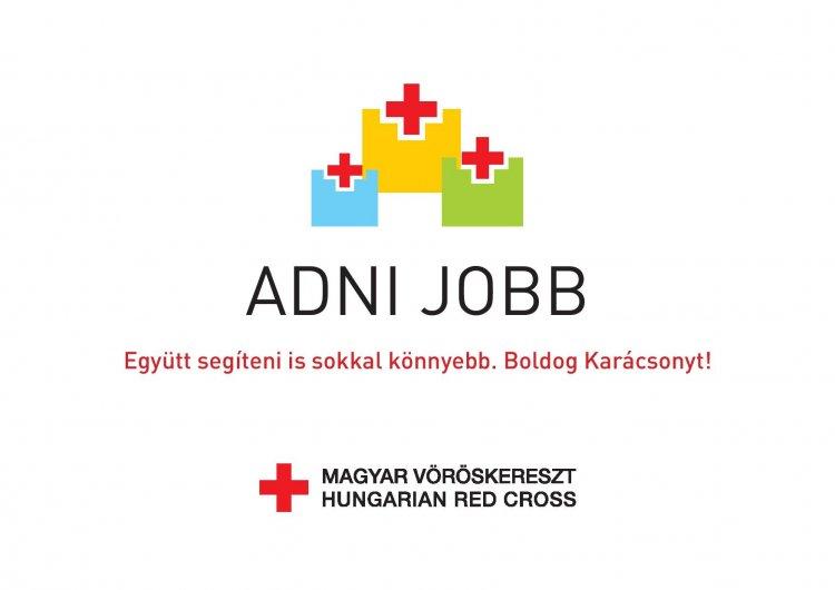 Adományozz vásárlással, a Magyar Vöröskereszt segítségével!