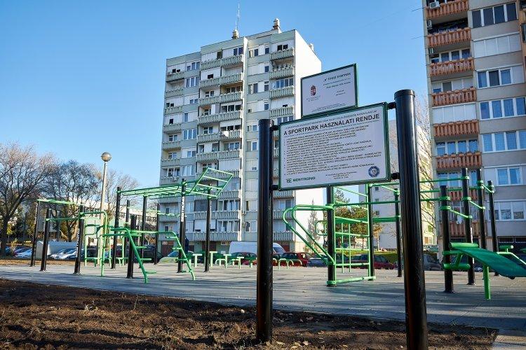 A Széna téri sportpark már elkészült, továbbiak épülnek – Videó!